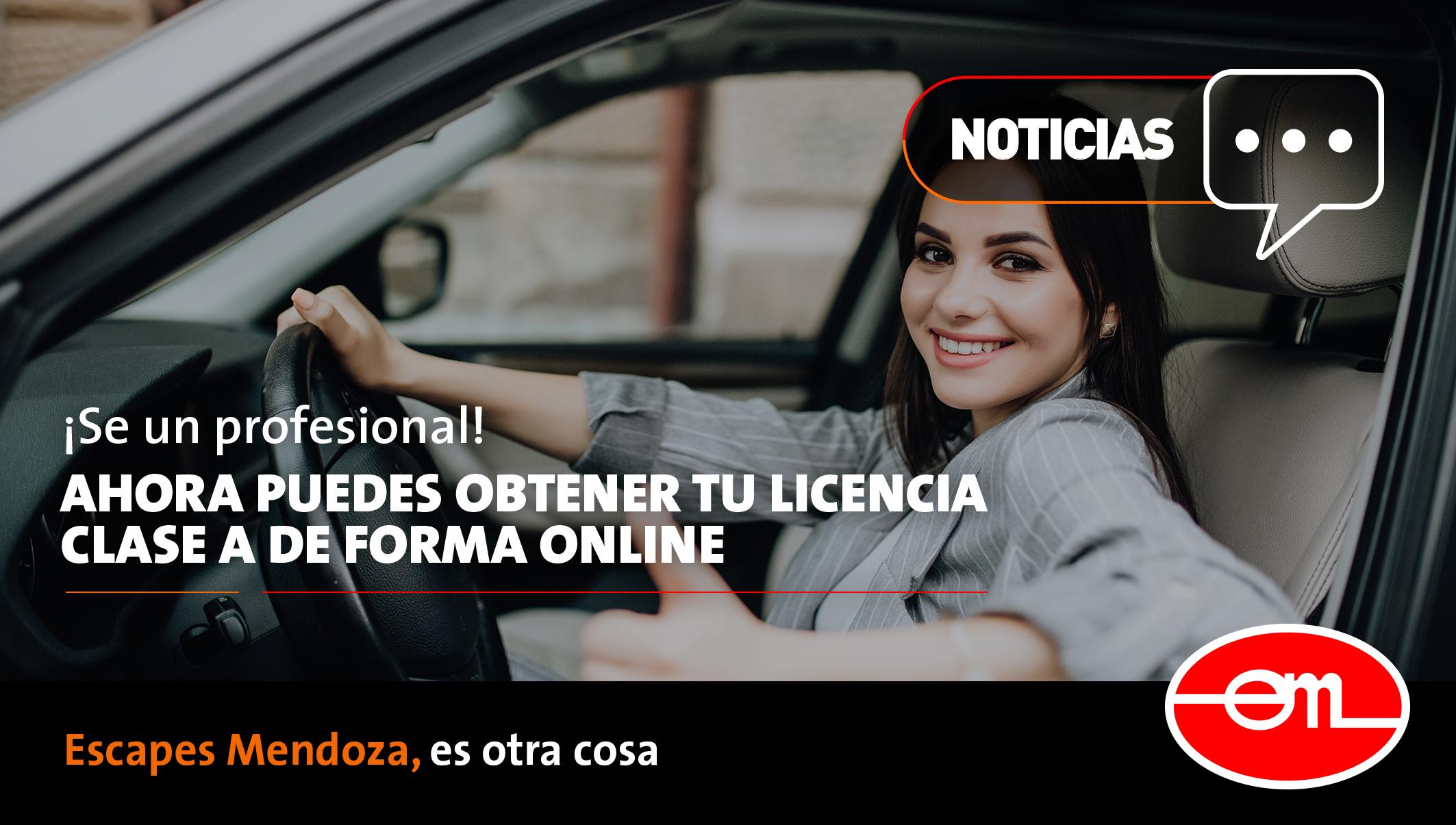 Obtén tu licencia clase a online