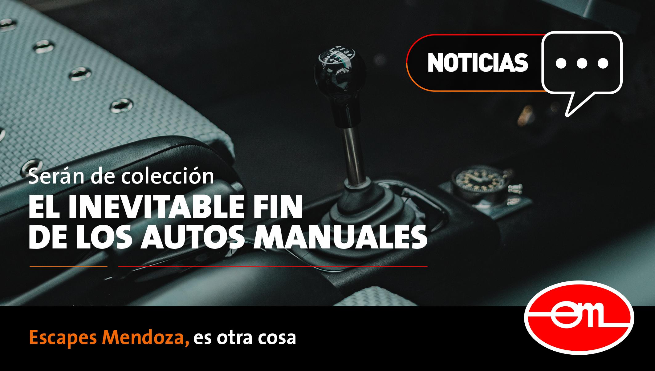 El fin de los autos manuales